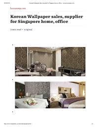 korean wallpaper sales supplier for singapore home office u2014 www kor u2026