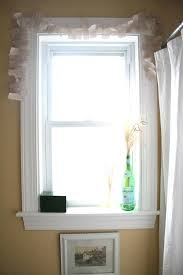 small bathroom window curtain ideas white bathroom curtains hpianco