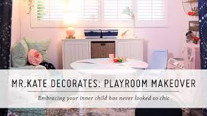 mr kate decorates playroom makeover pillowfort home decor