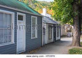Cottages In New Zealand by Miner U0027s Cottage In Arrowtown Otago Province New Zealand Stock