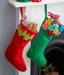 Christmas Stocking Tree Decoration How Do I Make A Christmas Wreath Homemade Christmas Stockings And
