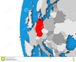 Germany On World Map by Https Thumbs Dreamstime Com Z Germany Globe D Ma