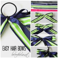 how to make a hair bow easy hair bows of home