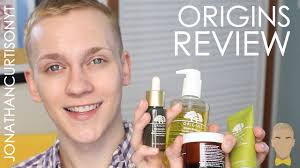 Origins Skin Care Review Origins Skincare Review Jonathancurtisonyt Youtube