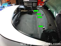 porsche 911 carrera convertible top mechanism repair 996 1998