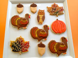 thanksgiving cookie platter cookie connection