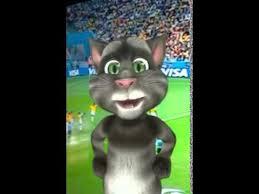 imagenes chistosas hoy juega colombia el gato tom opina sobre el partido de colombia y brasil youtube
