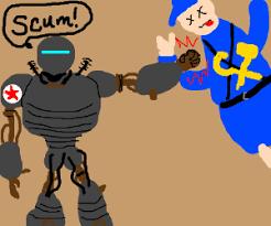 Liberty Prime Meme - prime fighting communist scum