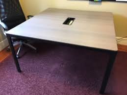 Ikea Bekant Conference Table Conference Tables Kijiji In Calgary Buy Sell Save With