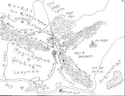 Lord Of The Rings Map The Lord Of The Whatever