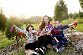 williams family holiday photo session ergle christmas tree farm