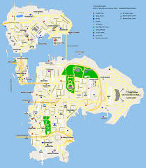 Gta World Map Grand Theft Auto Iv Weapon Location Map Dukes Broker Bohan For