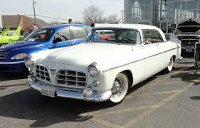 chrysler car white 1955 chrysler c 300 in platinum white paint on my car story with