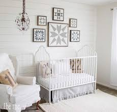 white gender neutral nursery neutral nurseries vintage