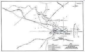 Philadelphia Pennsylvania Map by Philadelphia Original Railroads