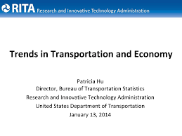 The Economic View From The National Trends In Transportation And Economic Development View