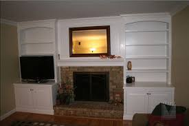 Built In Bookshelves Fireplace by Built Ins Would Love To Do This But How To Get Around The Windows