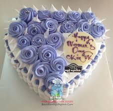 bong dep cho nu bánh kem sinh nhật dễ thương tặng cho phụ nữ trong ngày 8 tháng 3 có