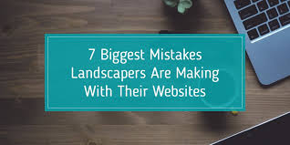 What Do Landscapers Do by 7 Biggest Mistakes Landscapers Are Making With Their Websites