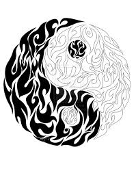 yin yang tattoo design art real photo pictures images and