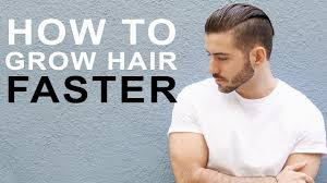 how to grow out boys hair how to grow hair faster longer tips to grow men s hair youtube