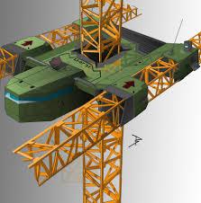 tower crane by bugra hekimhan building pinterest