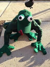 frog halloween costume namesake design hoppy halloween handmade frog costume