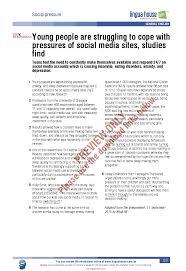 Depression Worksheets Social Pressure Worksheet Preview Linguahouse Com