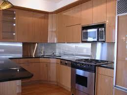 kitchen with stainless steel backsplash voluptuo us