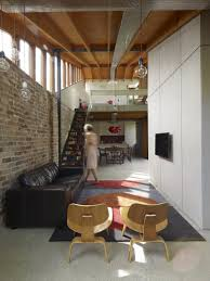 architecture rustic brick wall ideas enhance small lounge