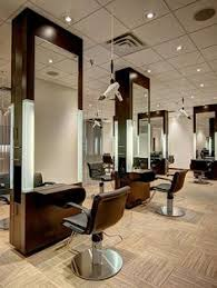 Hair Salon Interior Design by Beautiful Gold Mirrors With Turquoise Wall Color The Wood Floors