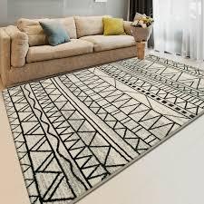 tappeti polipropilene salone piccolo con camino