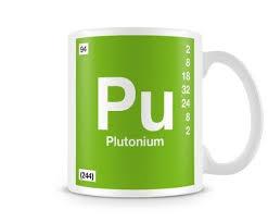 Periodic Table Mug Periodic Table Of Elements 94 Pu Plutonium Symbol Mug Ebay