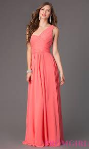 long one shoulder elizabeth k prom dress promgirl