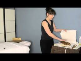 Massage Table Heating Pad by Bamboo Massage Tools Heating Pad Youtube