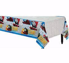train table with cover thomas the tank engine party tablecloths ebay