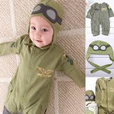 military halloween costume baby boy pilot military air force aviator astronaut halloween