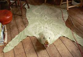 gorgeous bear skin rugs minus the bear mnn mother nature