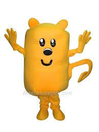 wow wubbzy mascot character costume