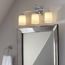 gallego 3 light glass shade vanity light birch lane beacon 3 light vanity light reviews birch lane