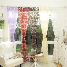 online get cheap leaf design curtains aliexpress com alibaba group