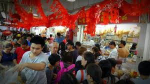 new year shopping lunar new year shopping picture of albert centre market food
