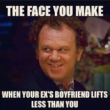 Ex Boyfriend Meme - lol i read this as the face you make when your ex boyfriend lifts