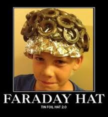 Tin Foil Hat Meme - tin foil hats actually make it easier for the government to track