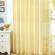 Noble Curtains Light Yellow Embroidered Noble Living Room Curtains Buy Yellow