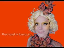 Effie Halloween Costumes Effie Trinket Halloween Makeup Tutorial Smashinbeauty