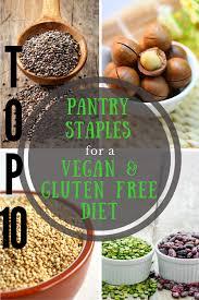 top 10 pantry staples for a vegan u0026 gluten free diet vegan chickpea