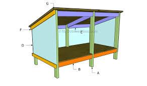 house plan double dog house plans myoutdoorplans free