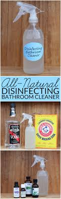 how to make natural bathroom cleaner natural bathroom disinfectant cleaner bren did