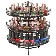 cosmetic makeup accessories mygift 3 tier metal heart theme